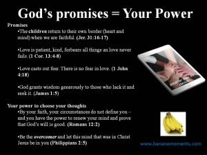 Respond to your child's school transition struggles by agreeing with God's promises, not your fears