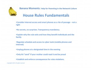 Fundamentals for House Rules and a Cyber Secure Home