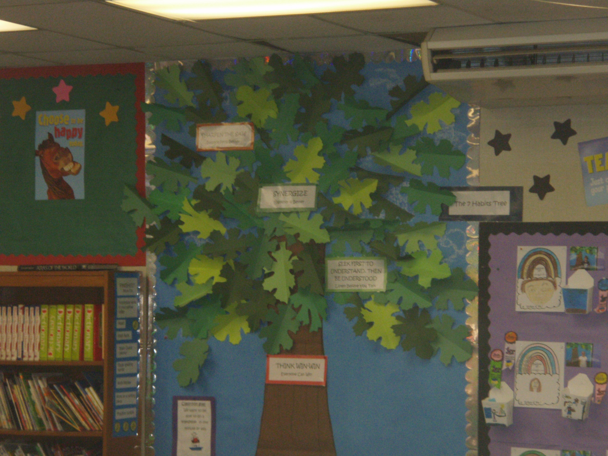 Banana moments foundation blog archive north country for 7 habits tree mural