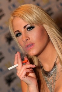 Jessica Nyx Smoking (e-cigarette) - photo by: Michael Dorausch via Flickr