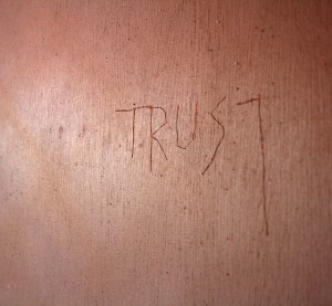 Trust by vagawl via Flickr