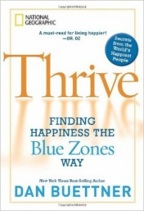 Thrive Buettner Book
