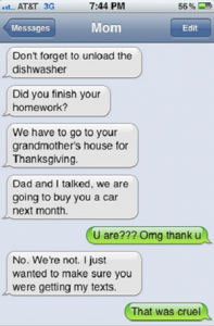 Photo: gettingtexts via List25.com