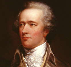 Photo: Alexander Hamilton via The Federalist Papers .org